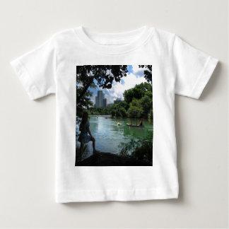 バートンの入り江/ladybird湖-オースティン、テキサス州 ベビーTシャツ