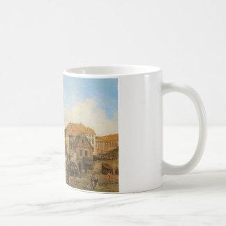 バーナードBellotto著ワルシャワのCarmelite教会 コーヒーマグカップ