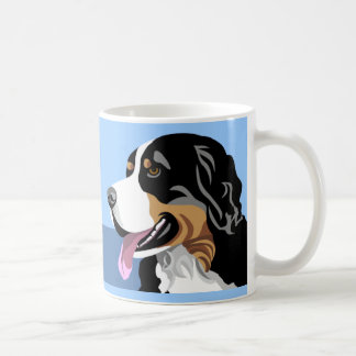バーニーズ・マウンテン・ドッグのマグ コーヒーマグカップ