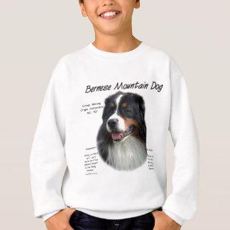 バーニーズ・マウンテン・ドッグの歴史のデザイン スウェットシャツ