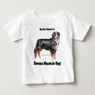 バーニーズ・マウンテン・ドッグ ベビーTシャツ