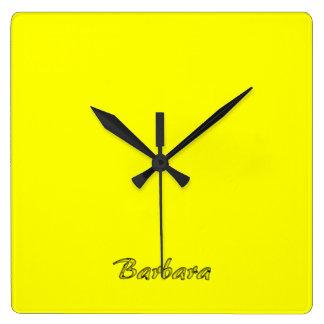バーバラの柱時計 スクエア壁時計