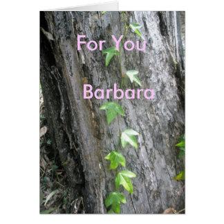 バーバラ カード