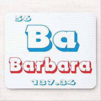 バーバラ マウスパッド