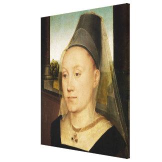 バーバラde Vlaenderberch、c.1472-75 キャンバスプリント
