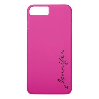 バービーピンク色の背景 iPhone 8 PLUS/7 PLUSケース