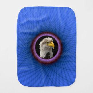 バープクロスの青および紫色の窓枠 バープクロス