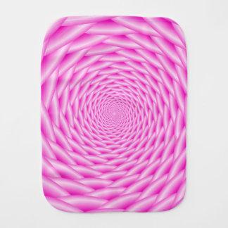 バープクロスの   ピンクの螺線形の織り方 バープクロス