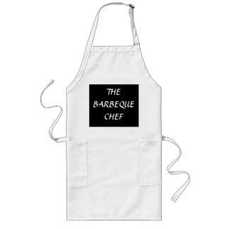 """""""バーベキューのシェフ""""の>Barbecueの料理のエプロン ロングエプロン"""