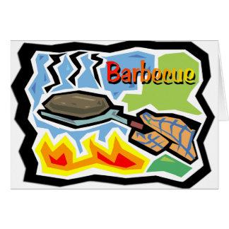 バーベキューの挨拶状 カード
