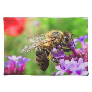 バーベナの蜜蜂 ランチョンマット