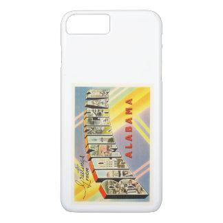 バーミンガムアラバマのALの古いヴィンテージ旅行記念品 iPhone 8 PLUS/7 PLUSケース