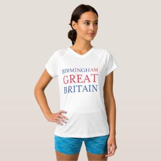バーミンガムイギリスの競争相手のTシャツ Tシャツ