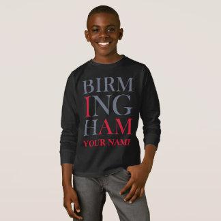 バーミンガム私はスエットシャツです Tシャツ