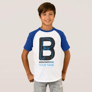 バーミンガム私はRaglanのワイシャツです Tシャツ