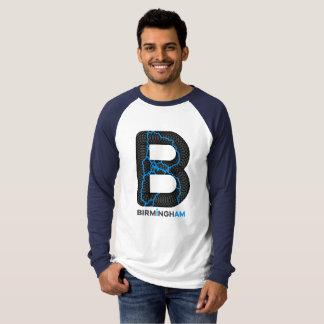 バーミンガム運河のRaglan Longsleeves Tシャツ