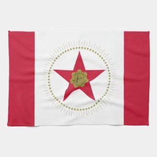 バーミンガム都市アラバマの旗米国アメリカ キッチンタオル
