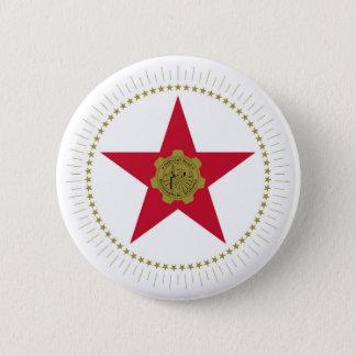 バーミンガム都市アラバマの旗米国アメリカ 5.7CM 丸型バッジ