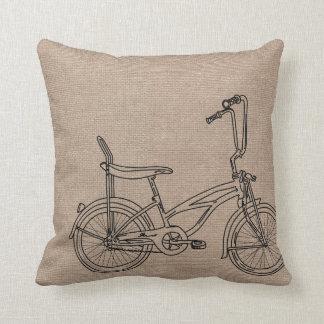 バーラップの自転車 クッション