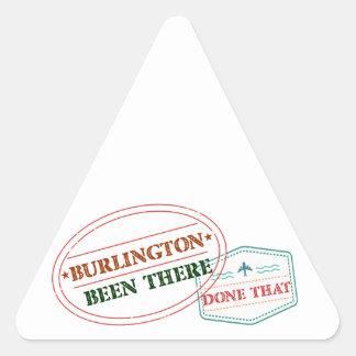 バーリントンそこにそれされる 三角形シール