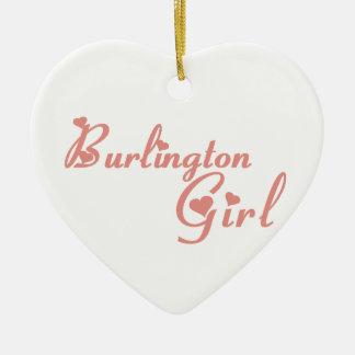 バーリントンの女の子 セラミックオーナメント