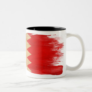 バーレーンの旗のマグ ツートーンマグカップ