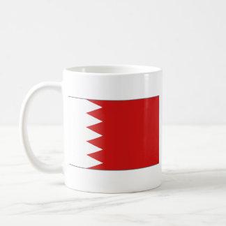 バーレーンの旗の~の地図のマグ コーヒーマグカップ