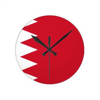 バーレーンの旗 ラウンド壁時計