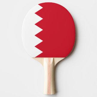 バーレーンの旗 卓球ラケット