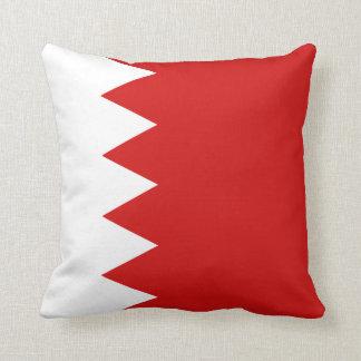 バーレーンの旗Xの旗の枕 クッション