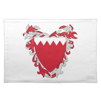 バーレーンの紋章付き外衣 ランチョンマット