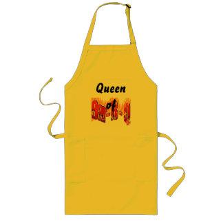 バーB Qの女王 ロングエプロン
