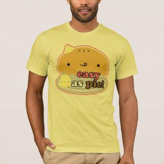 パイとして簡単! ティー(人) Tシャツ