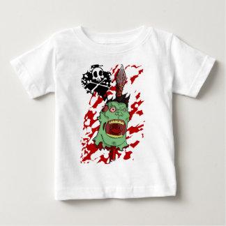 パイクのゾンビの頭部 ベビーTシャツ