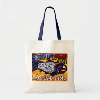 パイクの場所の魚 トートバッグ