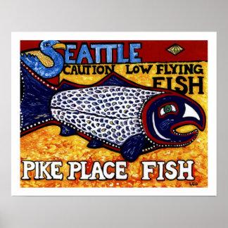 パイクの場所の魚 ポスター