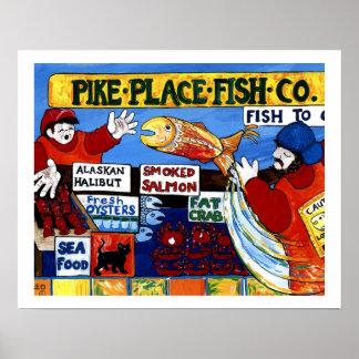 パイクの場所の魚Co. ポスター