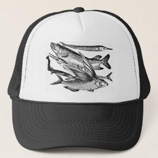パイク家族-魚 キャップ