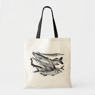 パイク家族-魚 トートバッグ