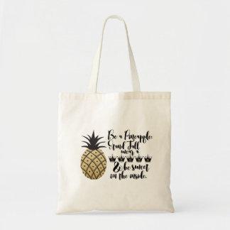 パイナップルがあって下さい トートバッグ