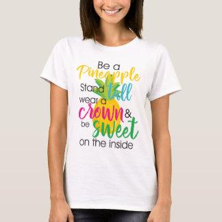 パイナップルがあって下さい Tシャツ
