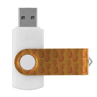 パイナップルが付いている継ぎ目が無いパターン USBフラッシュドライブ