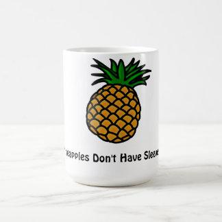 パイナップルに袖のマグがありません コーヒーマグカップ