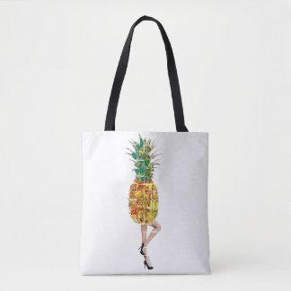 パイナップルの宝石 トートバッグ