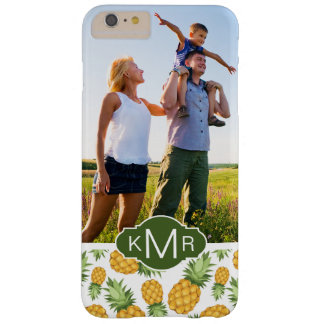 パイナップルパターン|はあなたの写真を加えます BARELY THERE iPhone 6 PLUS ケース