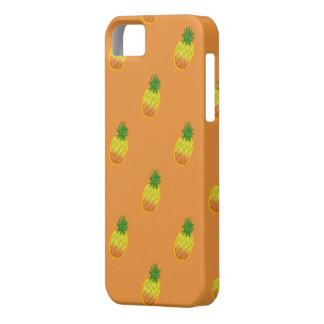 パイナップルパターンiphone 5 iPhone SE/5/5s ケース