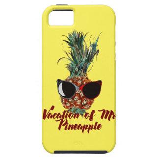 パイナップル休暇。 ユーモアのプリント iPhone SE/5/5s ケース