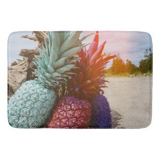 パイナップル日没のビーチ バスマット