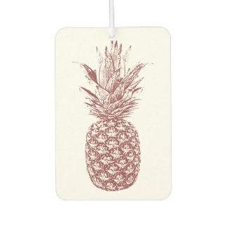 パイナップル熱帯芳香剤 カーエアーフレッシュナー