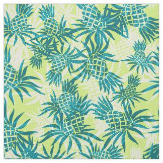 パイナップル迷彩柄のハワイの熱帯 ファブリック